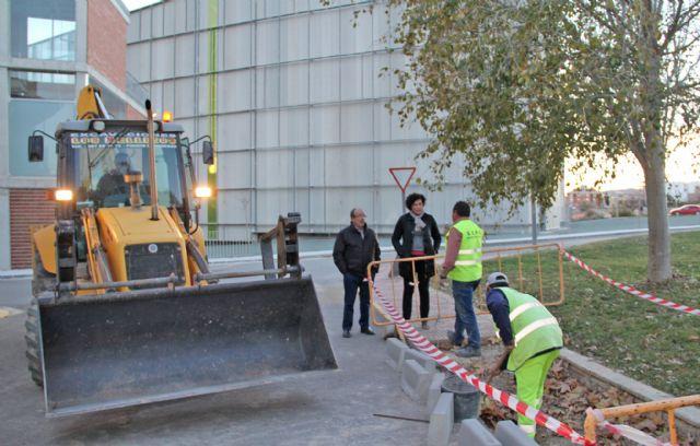 Comienzan las obras de mejora de calles, accesos y seguridad vial en el barrio El Cortijico de Puerto Lumbreras - 1, Foto 1