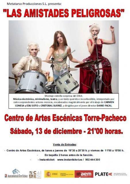 """Yllana y """"Las amistades peligrosas"""" este fin de semana en el Centro de Artes Escénicas de Torre-Pacheco - 1, Foto 1"""