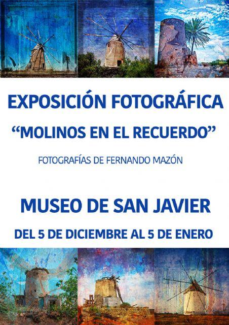 Fernando Mazón cuelga sus Molinos en el recuerdo  en el Museo de San Javier - 1, Foto 1