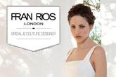 Fran Rios, nuestra diseñadora totanera afincada en Londres, vuelve a su ciudad natal para seguir viendo a futuras novias, madres de novia, madrinas y fiesta