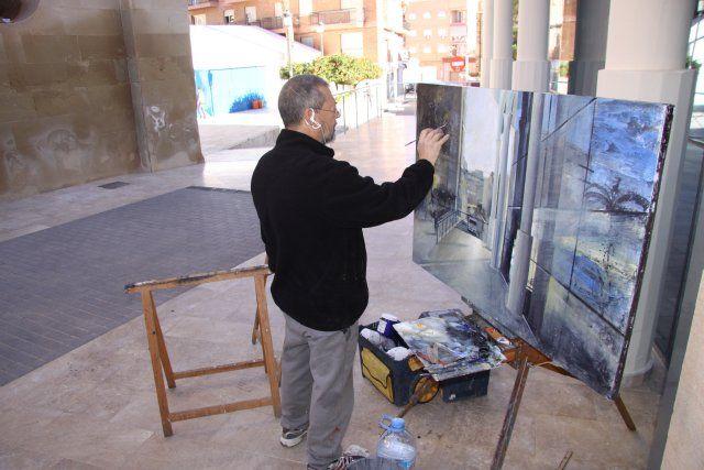 Antonio Agulló logra el primer premio en el certamen de pintura al aire libre Domingo Valdivieso - 2, Foto 2
