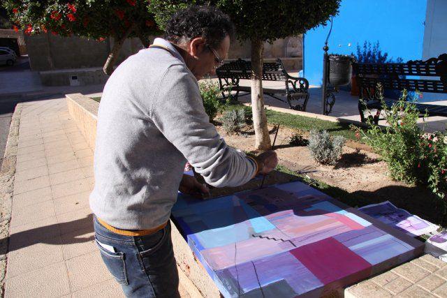 Antonio Agulló logra el primer premio en el certamen de pintura al aire libre Domingo Valdivieso - 3, Foto 3