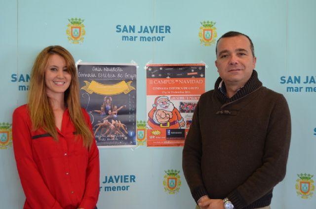 La Gimnasia Estética de Grupo protagonista del deporte de fin de semana en San Javier - 1, Foto 1