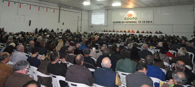 The Assembly unanimously reelected COATO José Luis Hernandez as President, Foto 2