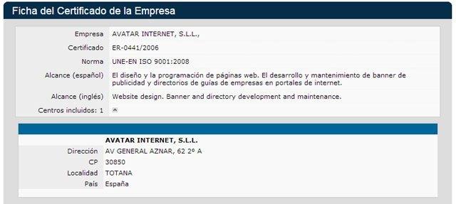 Las empresas totaneras Avatar Internet y Álamo Networks renuevan un año más su compromiso con la calidad, Foto 1