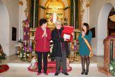 El artista lumbrerense Marcos Salvador Romera pregonó la Navidad en Puerto Lumbreras