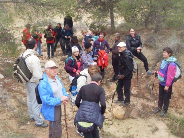 Deportes desarrolló una ruta de senderismo por la Sierra del Cura, Foto 2