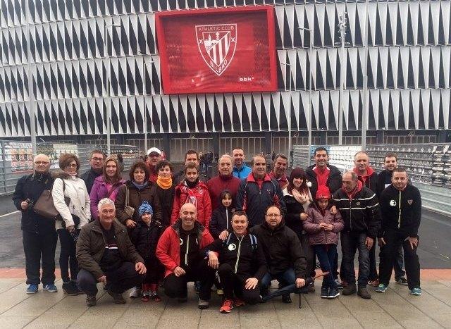 La Peña Athletic de Totana organiz� un viaje a Bilbao para presenciar el encuentro entre el Athletic Club y el C�rdoba, Foto 1