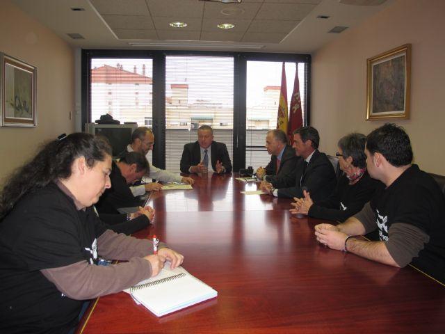 Reunión con la Plataforma en Defensa del Aeropuerto Público de San Javier - 1, Foto 1