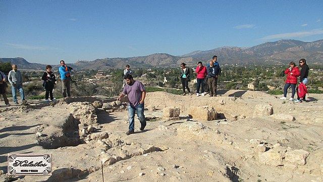 Cerca de 40 personas descubren el origen de la Ciudad de Totana con la Asociación Kalathos - 14