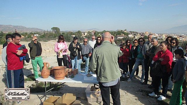 Cerca de 40 personas descubren el origen de la Ciudad de Totana con la Asociación Kalathos - 17