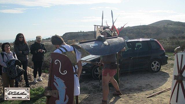 Cerca de 40 personas descubren el origen de la Ciudad de Totana con la Asociación Kalathos - 25