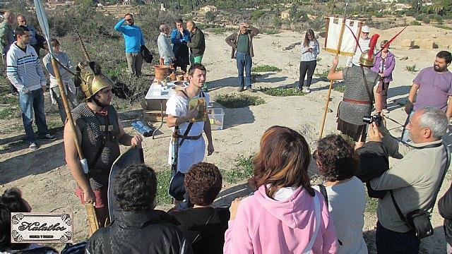 Cerca de 40 personas descubren el origen de la Ciudad de Totana con la Asociación Kalathos - 27