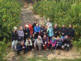 Deportes desarrolló una ruta de senderismo por la Sierra del Cura