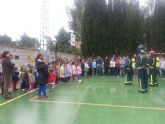 Simulacro de seismo en el colegio público de Villanueva del Río Segura