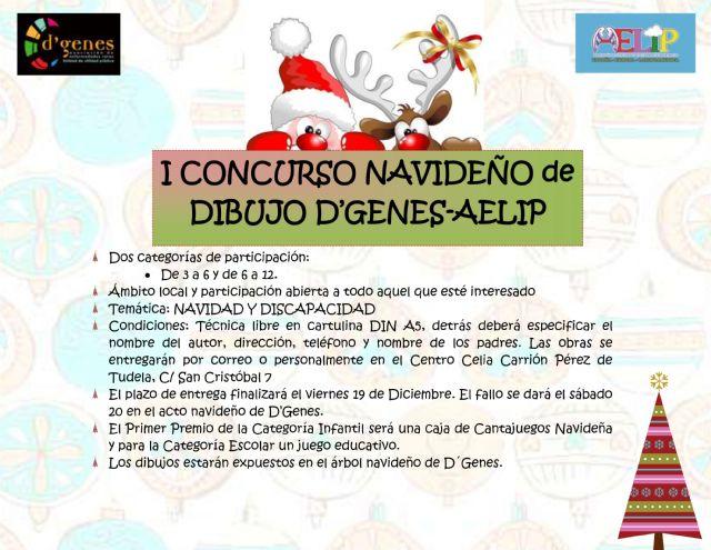 D´Genes y AELIP organizan el I Concurso Navideño de Dibujo, Foto 1