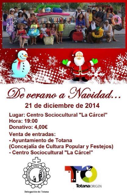 La Delegaci�n de Lourdes pone en escena el pr�ximo domingo 21 la obra de teatro De Verano a Navidad, Foto 1