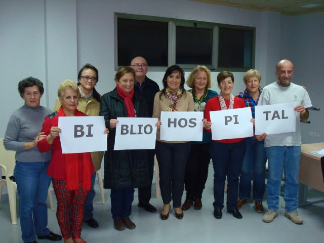 El bibliohospital cumple un año en Los Arcos con más de mil ejemplares prestados - 1, Foto 1