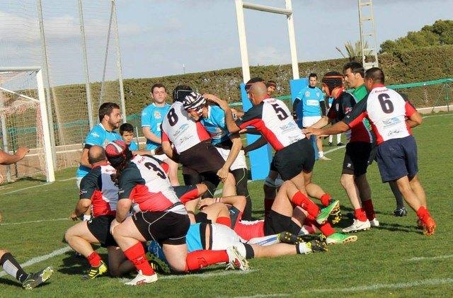 El Club de Rugby de Totana pierde injustamente en San Javier, Foto 1