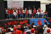 Los niños pinatarenses cantan a la Navidad en el III Encuentro de Villancicos escolares