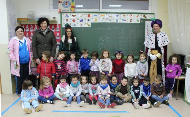 El Cartero Real llega a los Centros de Educación Infantil y Primaria de Puerto Lumbreras. Navidad 2014 - 1, Foto 1