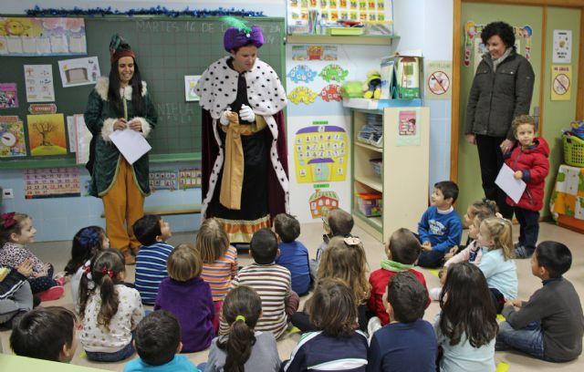 El Cartero Real llega a los Centros de Educación Infantil y Primaria de Puerto Lumbreras. Navidad 2014 - 2, Foto 2