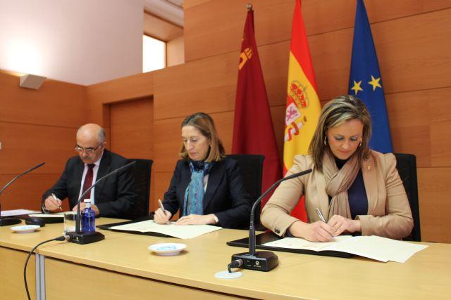 Comunidad Autónoma, Ayuntamiento de Torre-Pacheco y Ministerio de Fomento firman acuerdo para la regeneración y renovación urbana en Torre-Pacheco - 2, Foto 2