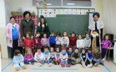 El Cartero Real llega a los Centros de Educación Infantil y Primaria de Puerto Lumbreras. Navidad 2014