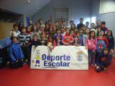 Sesenta escolares participaron en la Fase Local de Ajedrez de Deporte Escolar, alcanzando una cifra récord en la historia de esta competición escolar