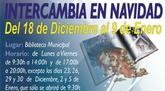 La Biblioteca Municipal desarrolla durante estos días la campaña Intercambia tu libro en Navidad