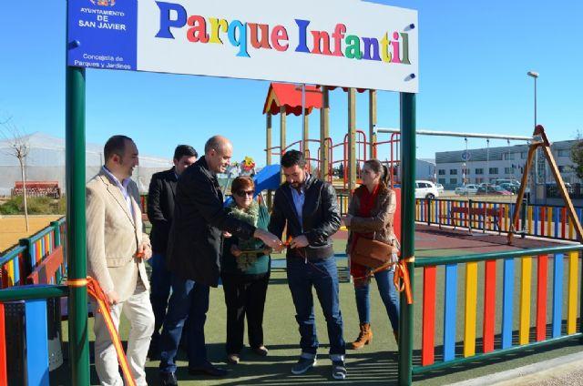 San Cayetano estrena parque infantil - 1, Foto 1