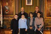 Cuatro escolares de Mazarr�n premiados en el certamen internacional de dibujo de aqualia