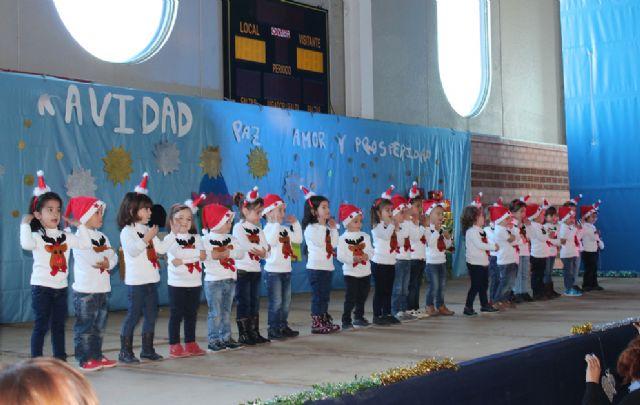 Los alumnos de los colegios de Puerto Lumbreras celebran las tradicionales Fiestas de Navidad 2014 - 1, Foto 1