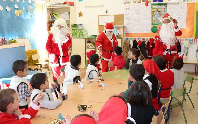 Los alumnos de los colegios de Puerto Lumbreras celebran las tradicionales Fiestas de Navidad 2014 - 4, Foto 4
