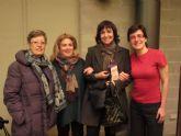 Rosa Montero compartió impresiones con los integrantes del taller Rincón Literario