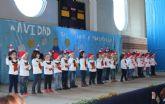 Los alumnos de los colegios de Puerto Lumbreras celebran las tradicionales Fiestas de Navidad 2014