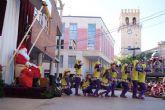 Papá Noel llegará a Totana el próximo domingo 21 a la Plaza de la Balsa Vieja a partir de las 17:00 con un espectáculo lleno de luz y música