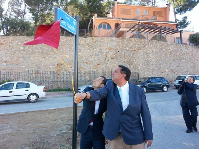 """Descubrimiento placa calle """"Torero Rafaelillo"""", en Villanueva del Río Segura. - 4, Foto 4"""