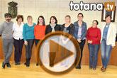 Se realiza una recepción institucional a los alumnos franceses que han realizado prácticas en Totana de la mano del IES 'Prado Mayor'
