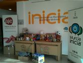 El CIM-M cuenta desde hoy con un punto de recogida de juguetes y alimentos