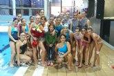 Move organizó una exhibicion de natacion sincronizada