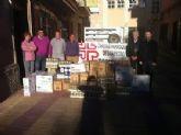 La Junta Municipal de Espinardo dona productos y alimentos a Cáritas San Pedro