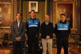 Alberto Zomeño asume el cargo de nuevo sargento de la Polic�a Local de Mazarr�n