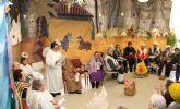 Los mayores del Centro de Día realizan un Belén Viviente