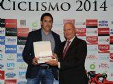 El ayuntamiento de Mazarr�n premiado en la gala anual del ciclismo regional