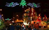 Papá Noel llega a San Pedro del Pinatar