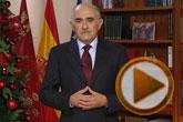 El presidente Garre traslada a los murcianos su deseo de paz y reivindica ejemplaridad y transparencia para ganar su confianza