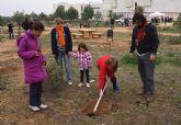 La solidaridad torreña planta 1.000 árboles en el municipio