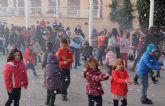 Puerto Lumbreras celebró su primera Fiesta con Nieve en Navidad