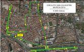 Disponibles horarios y circuito definitivo de la San Silvestre de Murcia 2014